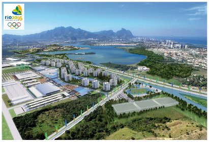Development plans for the 2016 Olympics in Barra