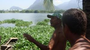 Real Estate development accross the lagoon from Vila Autódromo