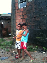 Children from Vila Autodromo