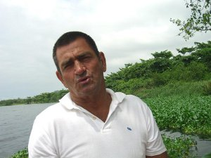 Altair Guimarães, one of Vila Autódromo's community leaders