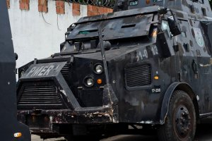 The Caveirão, BOPE's armored vehicle