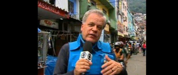 GLOBO journalist in Rocinha