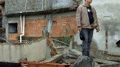 Carlos' demolished home in Campinho