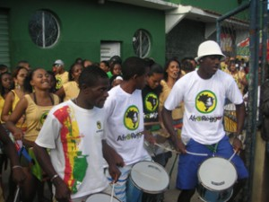 AfroReggae's carnival bloco