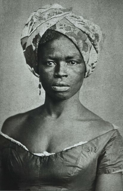 18th Century portrait of Afro-Brazilian woman