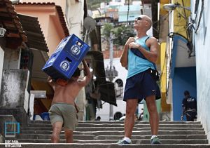 Foreigners in the Favela, photo by Ana Branca