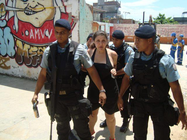 Journalist and Vidigal resident Mariana Albanese was arrested