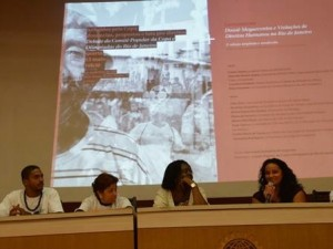 Panel of community leaders, photo by Rafael Deguerres