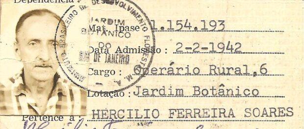 Documents prove the community's history. Image: Museu do Horto