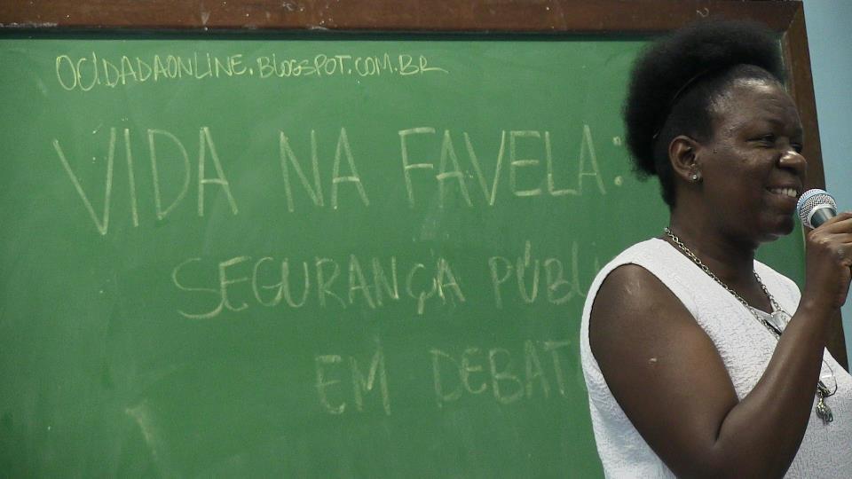 Cilene Vieira of City of God. Photo by Leon Diniz