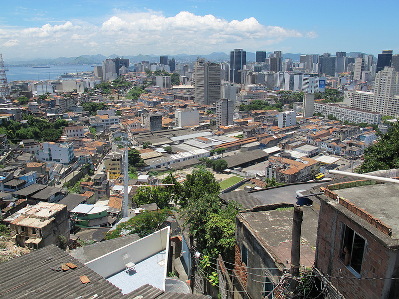 Favelas have traditionally offered affordable, centrally-located housing