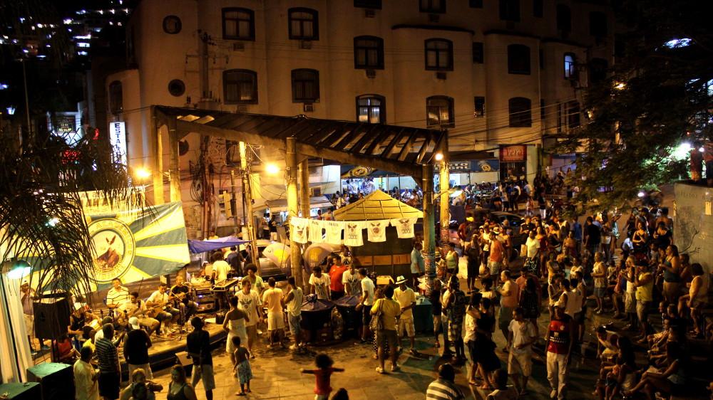Samba Party in Vidigal Photo by Patrick Isensee