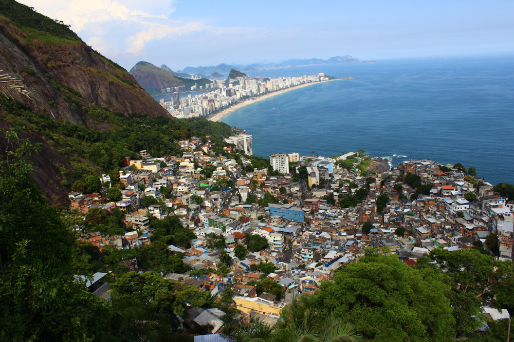 View on Vidigal. Photo by Patrick Isensee