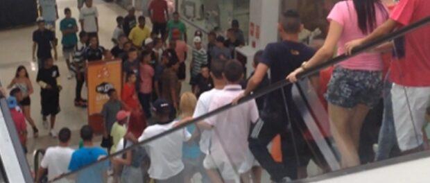 Rolezinho at the Shopping Metrô Itaquera in São Paulo. Photo by Filipe Serrano