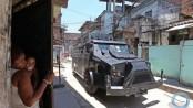 The BOPE caveirão armored vehicle