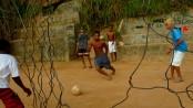 Football pitch in Rocinha