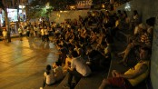 """Residents gather for the 2nd """"Fala Vidigal"""" Debate. Photo by Michel Jacquet"""