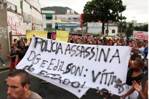 """Police Killed DG and Edilson: Victims of the State!"""