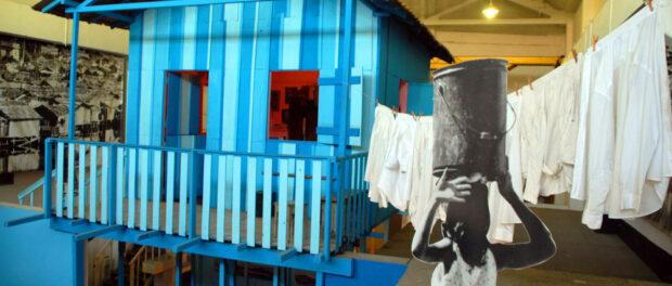The Museu da Maré preserves and celebrated the history of Maré