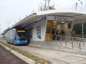 The BRT lines are the transport legacy for the 2016 games. Photo by Jadson Marques