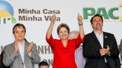 President Dilma at the construction launch of MCMV housing in São Paulo in March 2013. Photo by Roberto Stuckert Filho/PR
