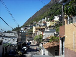 Morro dos Cabritos overlooks the beachside neighborhood of Copacabana