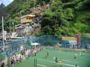 The first People's Cup 2014 event in Santa Marta. Photo by Fernando Frazão/Agência Brasil