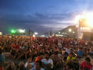 FIFA Fan Fest on Copacabana beach