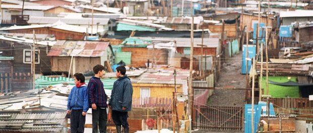 A 'campamento' in Chile