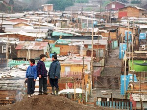 A campamento in Chile.