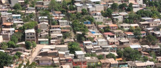 A 'barrio' in Honduras