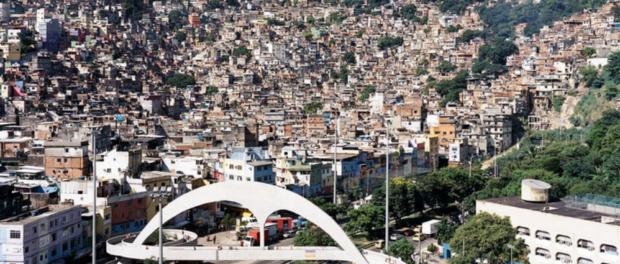 Rocinha's entrance, photo by SHIFT