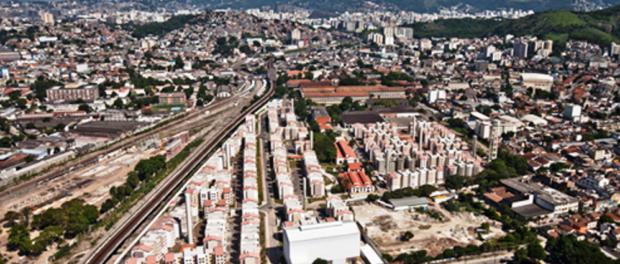 Minha Casa Minha Vida project in Triagem, photo from the Cidade Olympica website