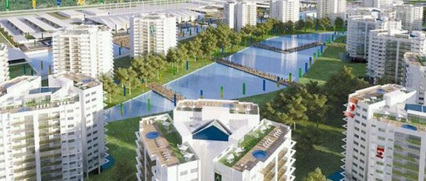 Plans for Construction of Ilha Pura Condominiums, in Barra da Tijuca