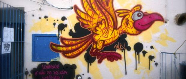 Graffiti by artist SHUN