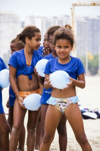 The camp provides children with different options for keeping entertained during the holidays. Photo by Amaury Alves