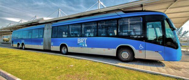 BRT station. Photo by Blog do Planalto