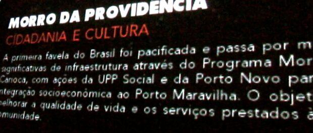 Providência - Porto Maravilha poster