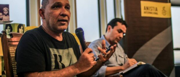 Atila Roque of Amnesty International says people should speak out about human rights