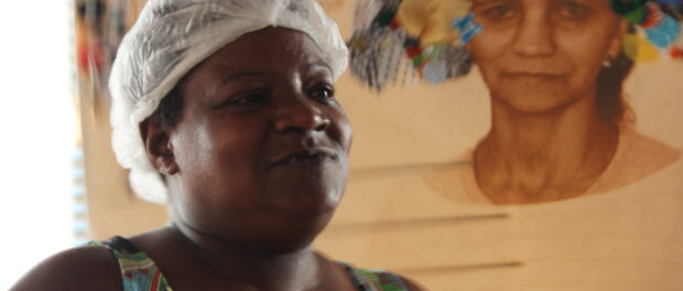 Rosimary, entrepreneur celebrated for her contribution in Cantagalo Favela
