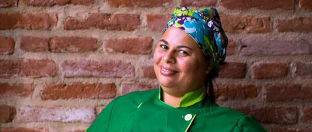 Regina Tchelly founded Favela Orgânica with her own money.