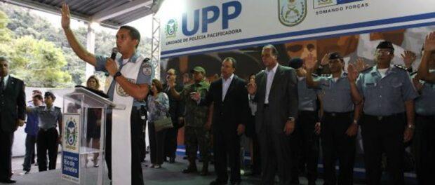 Inauguration of Cerro Corá UPP. Photo by Rio de Janeiro State government