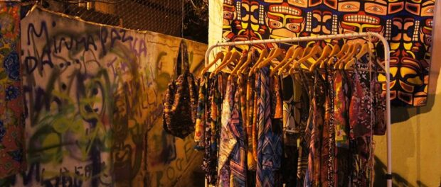 African-style clothes of the brand Moda Arte Katuchita Etnias were showcased in the event. Photo: Lorraine Gaucher-Petitdemange