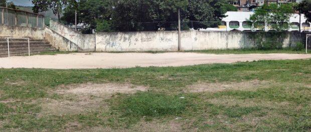 Cascadura park soccer pitch