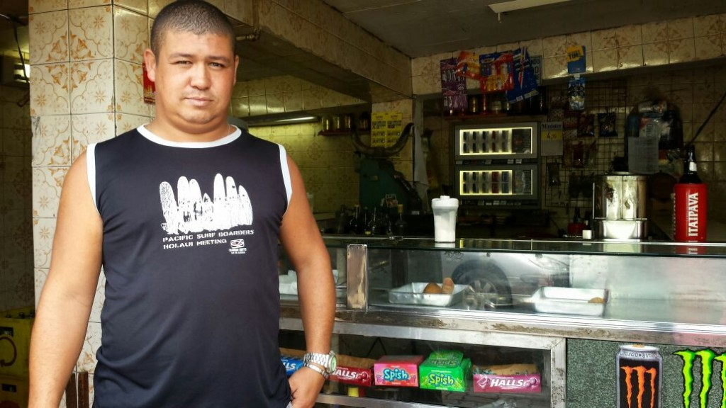 André dos Santos lost 90% of his sales because of the BRT line implementation in Cascadura.