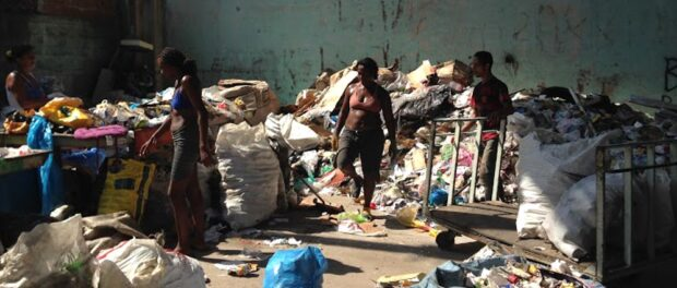 Recycling Cooperative. Photo by Ramya Ahuja