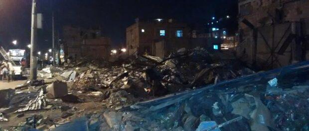 Demolished property in Favela do Metro. Photo: Caio Cezar de Oliveira