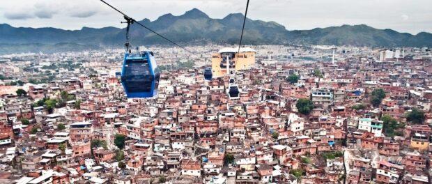 Complexo Do Alemão cable car