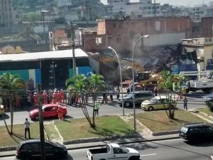 The City is demolishing properties in Favela do Metro. Photo: Caio Cezar de Oliveira