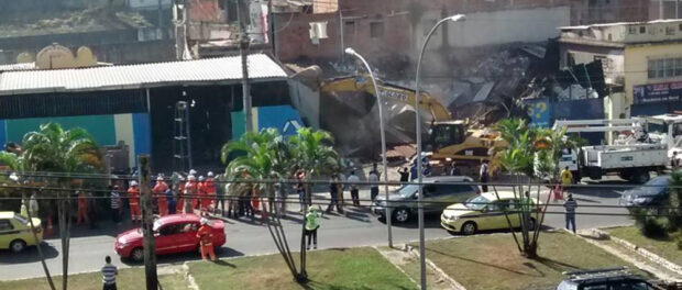 The City is demolishing properties in Favela do Metro. Photo: Caio Cezar de Oliveira